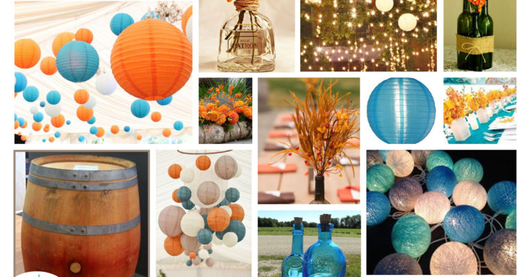 Annual Fall Art Center Party Mood Board #2