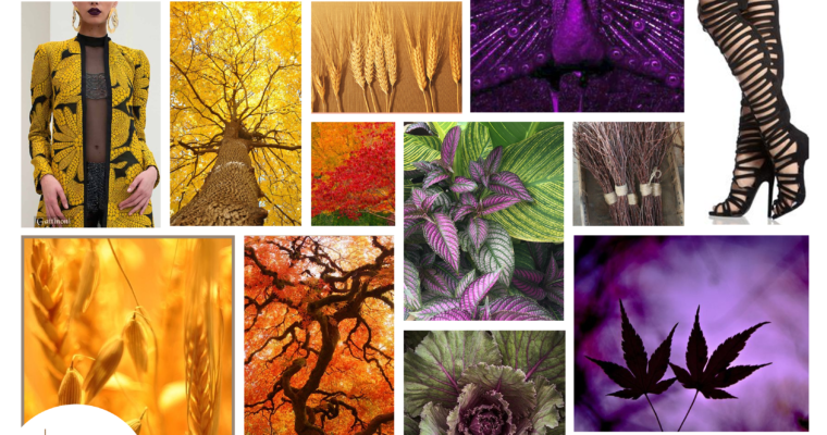 As Purple as an Autumn Sky Moodboard Monday #3