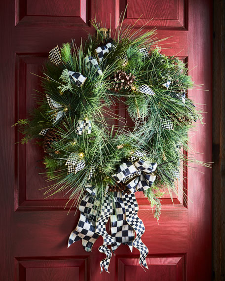 Underpinnings Wreath, $150.00, Horchow, MacKenzie -Childs