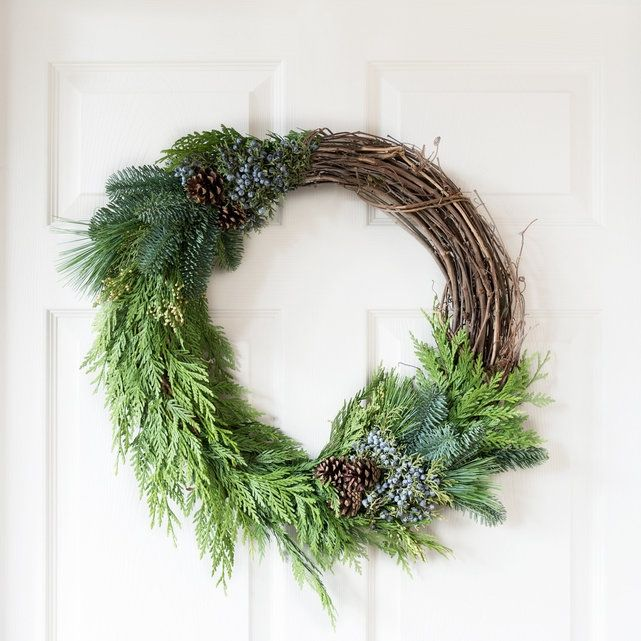 Natural Wreath, $65.00, The Bouqs Company
