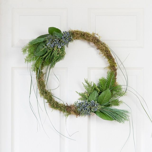 Woodland Wreath, $55, The Bouqs Company