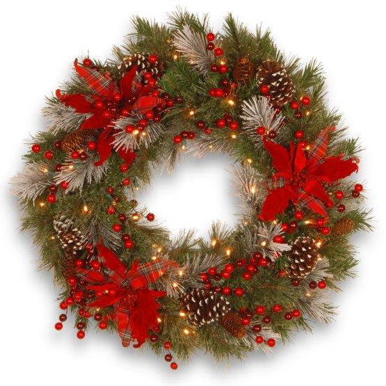 Tartan Plaid Wreath